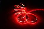 Светодиодная лента 3528-120  IP20, красный, негерметичная