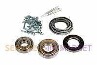Комплект подшипников + сальник + уплотнитель бака + крепление для стиральной машины Bosch 619809