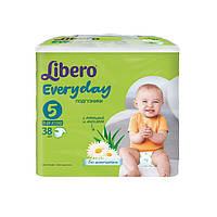 Подгузники Libero Everyday (Эвридэй) 5 (11-25 кг), 38 шт