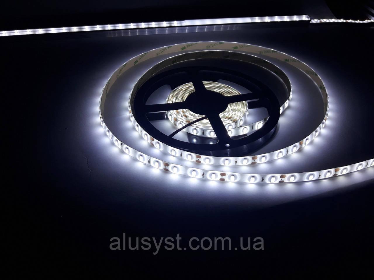Светодиодная лента LED 5730-60 IP20 белый, негерметичная