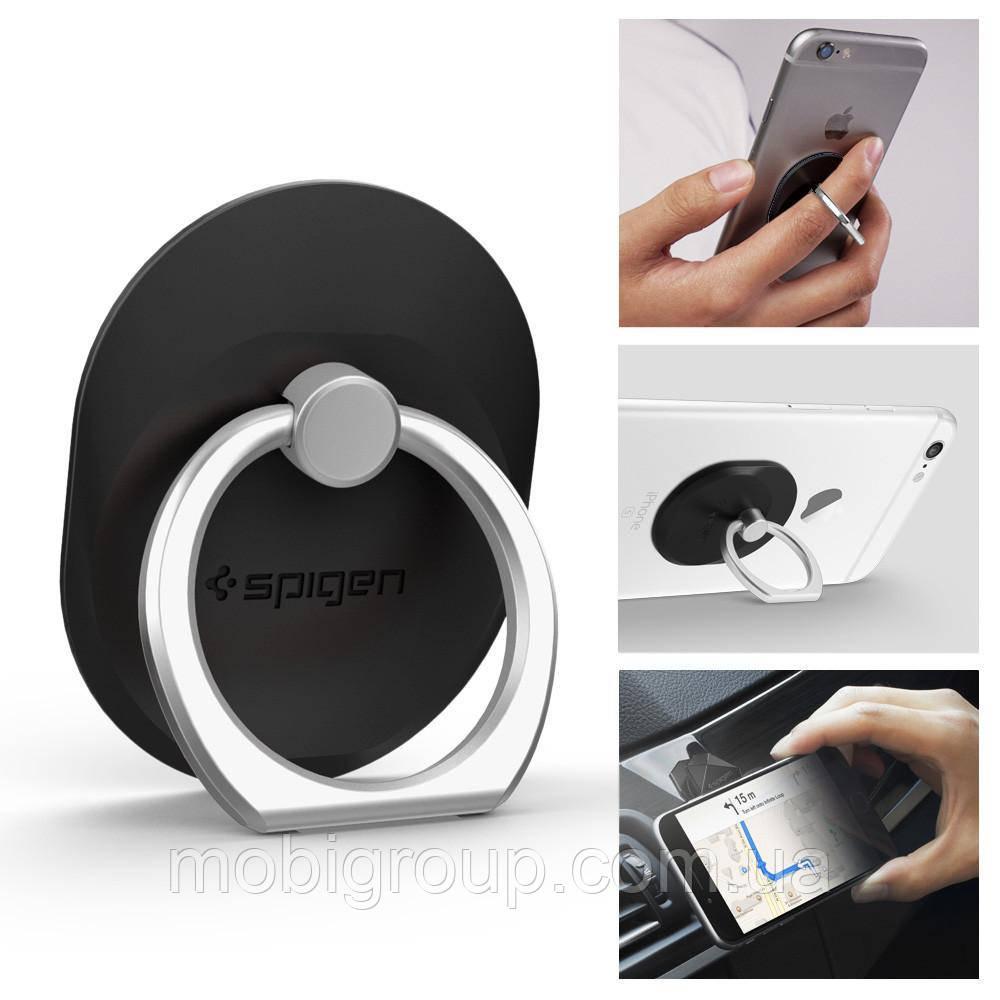 Держатель Spigen Style Ring для телефона, Black