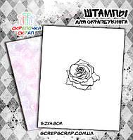 Штамп роза