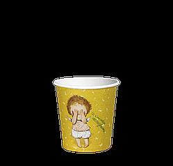 Стакан бумажный 110 мл. Gapchinska 50шт.(84/4200) Желтый