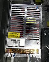 Блок питания для подключения светодиодной ленты 12V / OEM DC12 200W 16,5А TR-200-12