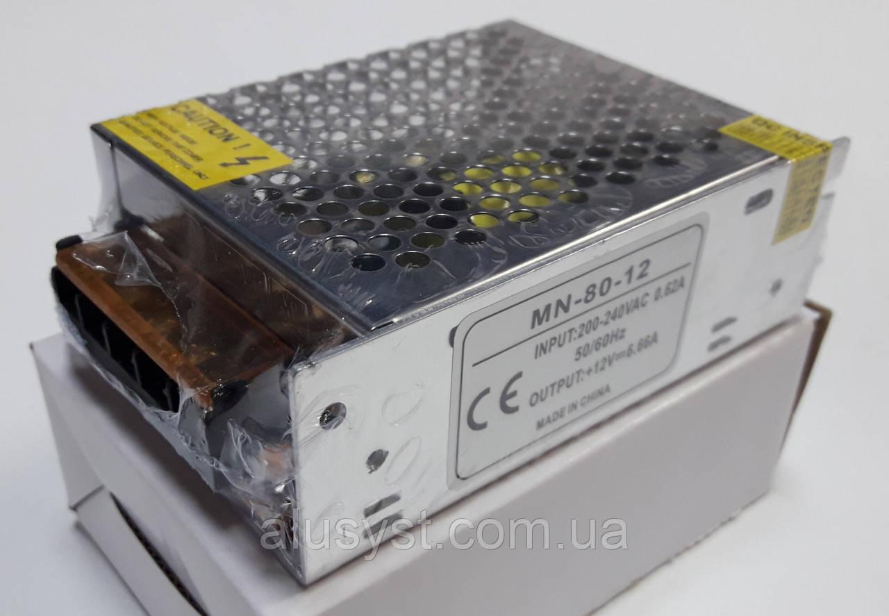 Блок питания 12V-80W-6,6А