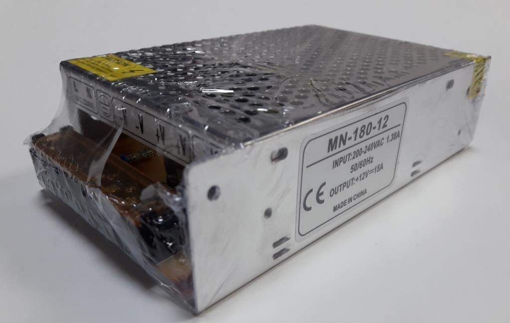Блок питания 12V-180W-15А