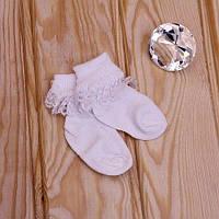 Носочки с рюшей для девочки