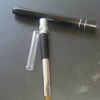 Кисть для наращивания ногтей акрилом # 6 со сьемной ручкой-колпачком