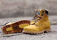 Зимние ботинки CAT Caterpillar мужские НА МЕХУ в наличии. РАЗМЕР 40-44