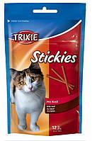 Лакомство Trixie Stickies для кошек с говядиной, 25 г