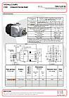 Аксиально-поршневой насос Binotto DARK TWIN FLOW ISO 2PAK 50+50, фото 2