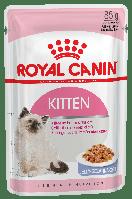 Royal Canin KITTEN INSTINCTIVE в желе 85 г - консервы для котят от 4 до 12 месяцев (кусочки в желе)