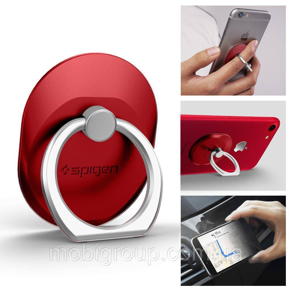 Держатель Spigen Style Ring для телефона, Red