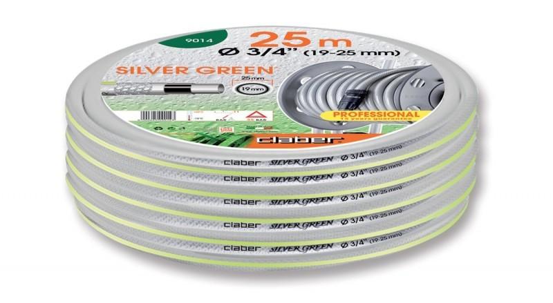 9014 Шланг Claber SILVER GREEN 3/4 - 25 метров