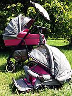 Детская коляска БУ Ajax British 2в1, ЛЕН