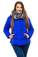 Зимняя женская куртка Hailuozi батал