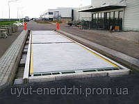 Автомобильные весы с бетонной платформой