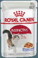 Royal Canin INSTINCTIVE in Jelly - консервы для кошек (кусочки в желе), 85г