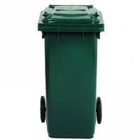 5050G Контейнер пластиковый для мусора 120 л зеленый