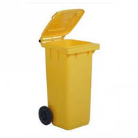 5050Y Контейнер пластиковый для мусора с колесами  120л