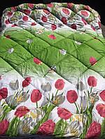 Одеяло из овечьей шерсти полуторное (сатин) от производителя