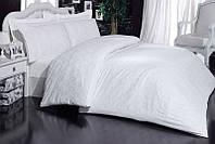 Постельное белье Mariposa Deluxe Tencel Ottoman white V1