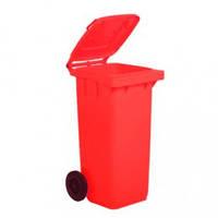 5050R Контейнер пластиковый для мусора с колесами 120л