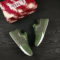 Кроссовки мужские New Balance 997.5 зеленые топ реплика, фото 2