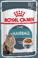 Royal Canin HAIRBALL CARE - консервы для кошек для выведения волосяных комочков за 14 дней, 85г