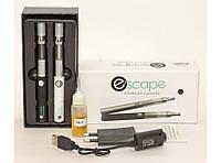 Электронная сигарета в наборе 2 штуки Escape MK92 (жидкость + зарядка + переходник)