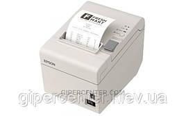 Чековый термопринтер EPSON TM-T20II Ethernet+USB с обрезчиком белый