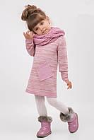 Меланжевое платье для девочек / Меланжеве плаття для дівчаток