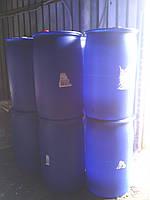 Пластикова Бочка харчова, 227 літрів, б/у, миті і немиті