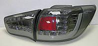 Kia Sportage R оптика задняя черная LED