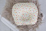 """Подушка для новорожденных """"Звездочки цветные"""""""