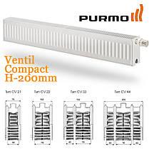 Радиатор стальной PURMO Ventil Compact CV22 200x1600, фото 2