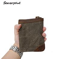 Мужской винтажный кошелек Sourse Point