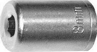 Головка торцевая, 6-гранная, 9 мм, CrV, оцинкованная// SPARTA 136125