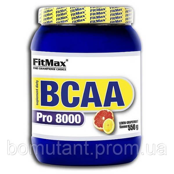 BCAA Pro 8000 550 гр лимонно - грейпфрутовый FitMax