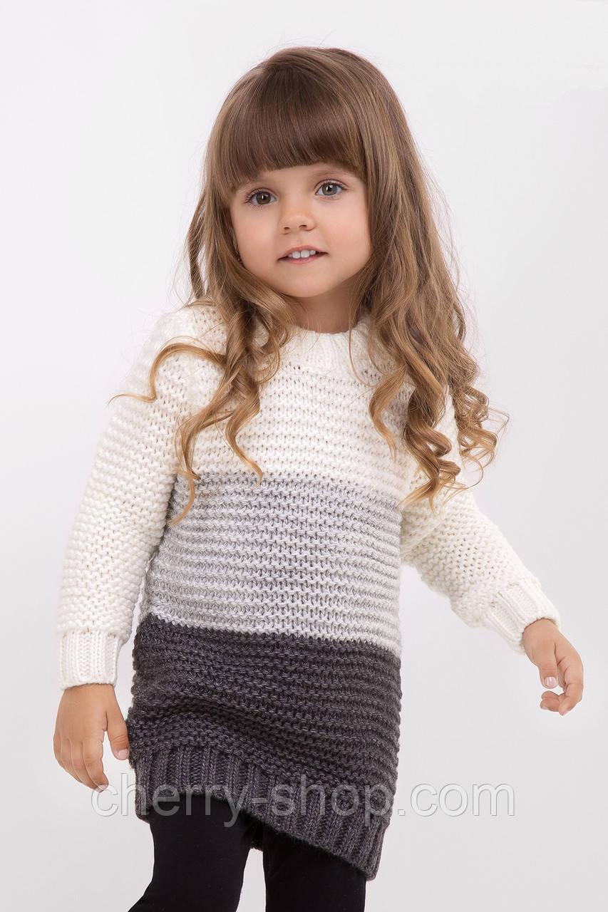 Оригинальный теплый детский свитер / Оригінальний теплий дитячий світер