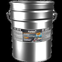 Грунтовка антикарозийная Farbex ГФ-021, красно-коричневая 12 кг