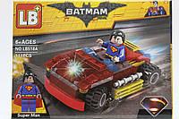 "Конструктор LB+ ""Супермен"" 111 деталей"