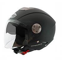Шлем открытый MT City Eleven черный матовый, L