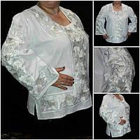 """Богатая вышитая блуза для женщин """"Княжеские маки"""""""