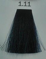 1.11 Иссиня-Черный, Крем краска для бровей и ресниц Luxor Color