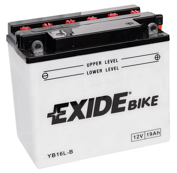 Аккумулятор кислотный 19Ah 190A EXIDE EB16L-B = YB16L-B
