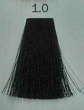 1.0 Классический Черный, Крем краска для бровей и ресниц Luxor Color