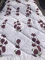 Одеяло из овечьей шерсти евро (сатин)