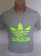 Футболка мужская с надписью Adidas