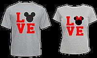 """Парные футболки """"Love №2"""", фото 1"""
